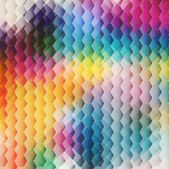 Abstract color Background with cell — Stock vektor