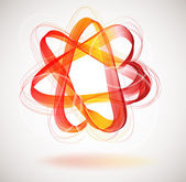 Abstract colorful background with Star infinite loop — 图库矢量图片