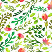Watercolor seamless pattern — Stock Vector