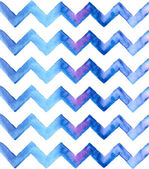 Chevron watercolor blue Background — Stock Vector