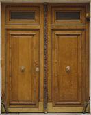 Puertas de madera — Foto de Stock