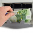 Counting The Euro Bills — Stock Photo #50106489