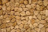 Limestone Wall — Stock Photo