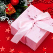 Christmas gift box — Stockfoto #17349193