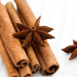 Royalty-Free Stock Photo: Star anise with cinnamon sticks