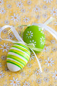 Easter decorative eggs — Stock Photo