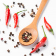 Aromatic spices pepper — Stock Photo