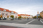 Vilnius old town panorama, Lithuania — Stock Photo