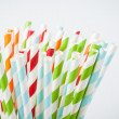 Stock Photo: Striped cocktail stick