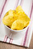 Potato chips — Stockfoto