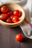Tomate cereja. — Fotografia Stock