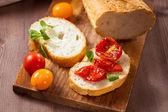 乾燥トマトのスナック — ストック写真