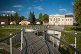 Beautiful lake Zarasas summer day. Lithuania. — Stock Photo