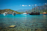Mediterranean coast, Turkey Kemer — Stock Photo