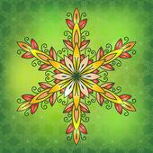 Oryantal geleneksel süsleme, vektör çizim — Stok Vektör