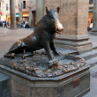 "Stock Photo: Il Porcellino (Itali""piglet"") is local Florentine nickname for bronze fountain of boar in Florence, Tuscany, Italy."