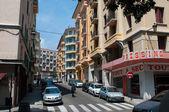 Street of Bastia. Corsica, France. — Stock Photo