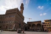 Piazza della signoria. firenze, toscana, italia. — Foto Stock