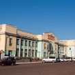 Central railway station. Ulan-Ude — 图库照片