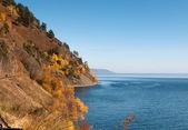 Autumn at Lake Baikal — Stock Photo