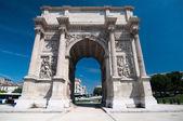 在马赛,法国凯旋之 — 图库照片