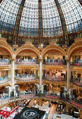 Old (classic) part of Lafayette department store in Paris — Stock Photo