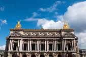 Opery garnier w Paryżu Francja — Zdjęcie stockowe
