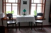 Интерьер дома Ленина в Шушенском сибирским посёлок городского типа — Стоковое фото