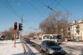 Abakan sokak — Stok fotoğraf