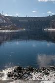 Sayano-Shushenskaya hydroelectric power station — Stock Photo