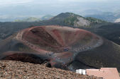 Craters Silvestri of the volcano Etna — Stock Photo