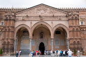 Main cathedral in Palermo - Cattedrale di Vergine Assunta — Stock Photo