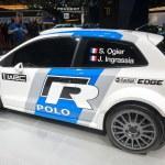 Постер, плакат: Volkswagen Polo R WRC premiere