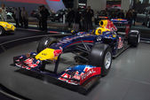 Formula one Renault team car — 图库照片