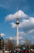 The television tower of Berlin — Stock Photo