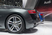 Audi R8 Spyder world premiere — Stock Photo