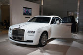 Rolls Royce Ghost English White — Stock Photo