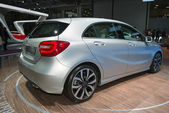 Mercedes A-class russian premiere — Stock Photo