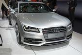 Audi S7 russian premiere — Stock Photo