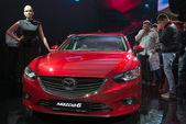 Mazda 6 - мировая премьера — Стоковое фото