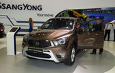 SsangYong Actyon Sports — Stock Photo