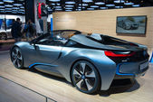 BMW i8 Spyder Concept premiere — Stock Photo
