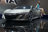 Acura NSX Hybrid Concept — Stock Photo
