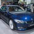 BMW 4 Series Coupe world premiere — Stock Photo