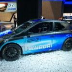 ������, ������: Hyundai WRC racing car
