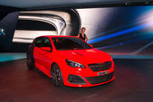Peugeot 308R sport version — Stockfoto