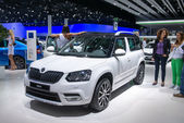 SKODA Yeti world premiere — Stock Photo