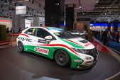 Honda Civic racing car — Stockfoto