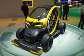 Renault Twizy sport F1 — Stock Photo