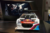 Peugeot 208 T16 Pikes Peak — Stock Photo